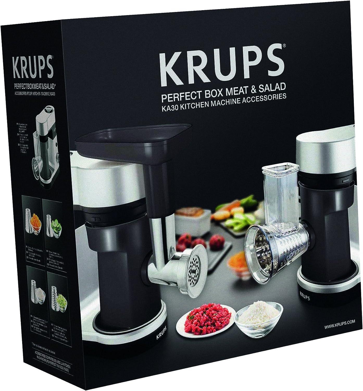 Krups XF6404 Perfect Mix - Juego de complementos para el Robot de cocina KA3031 (picadora de carne y trituradora): Amazon.es: Hogar