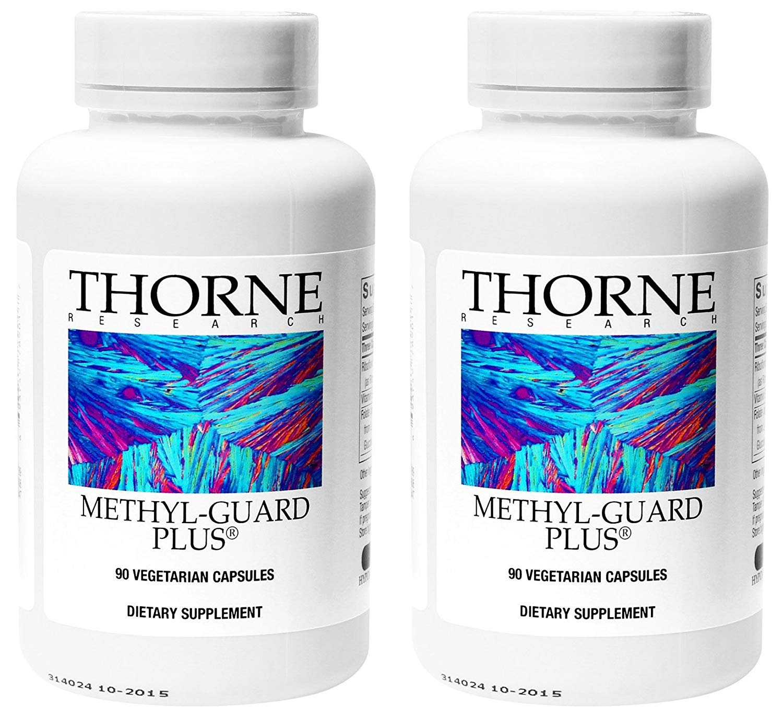 Thorne Research – Methyl-Guard Plus – 90 Vegetarian Capsules – 2 Pack