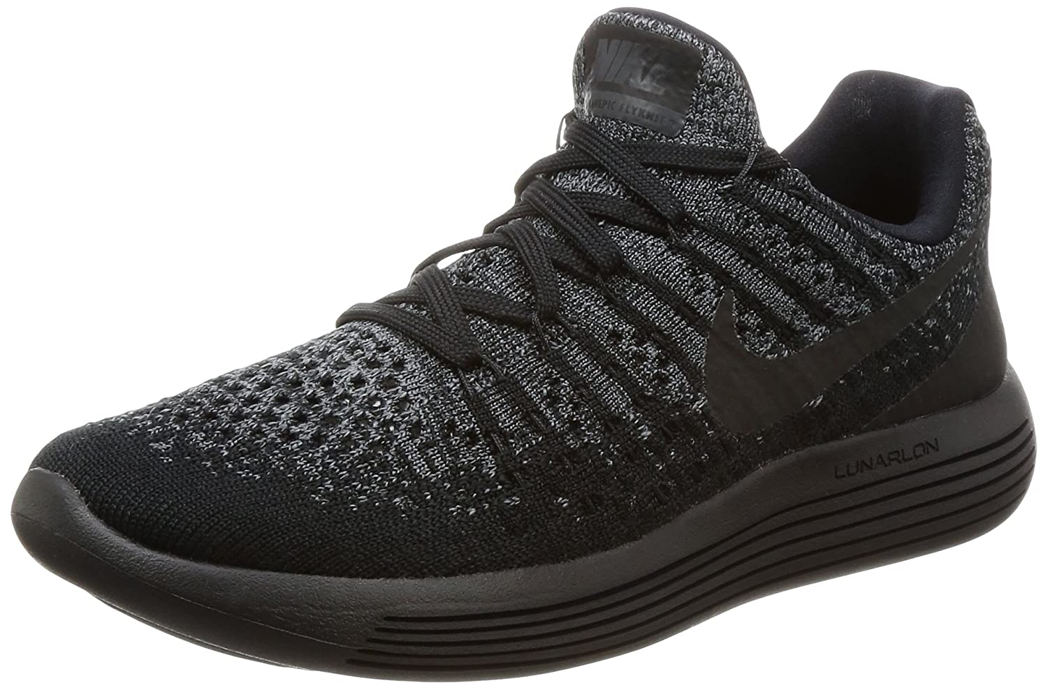 NIKE Women's Lunarepic Low B07468CYLX Flyknit 2 Running Shoe B07468CYLX Low 10.5 B(M) US|Black/Dark Grey/Racer Blue/Black bbf399