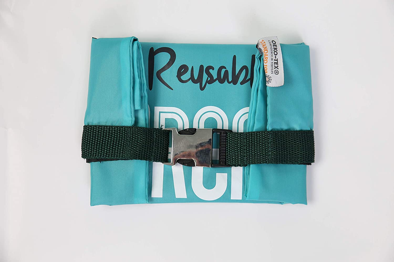 BROTBEUTEL Ameeze Unverpackt Aufbewahrung und Einfrieren//Umweltfreundlich Charcoal leicht robust waschbar//zum Einkauf /ÖKO TEX/® 100/% Recycling Polyester Zero Waste Mehrweg