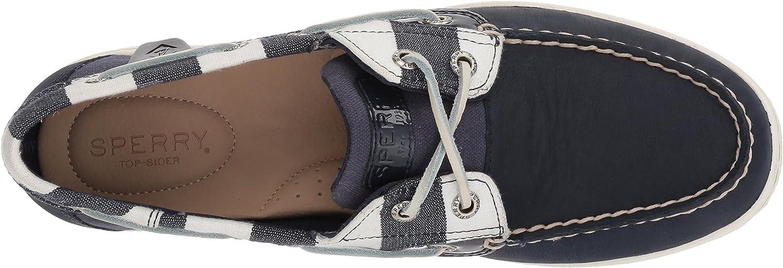 Sperry Womens Koifish Breton Stripe Boat Shoes