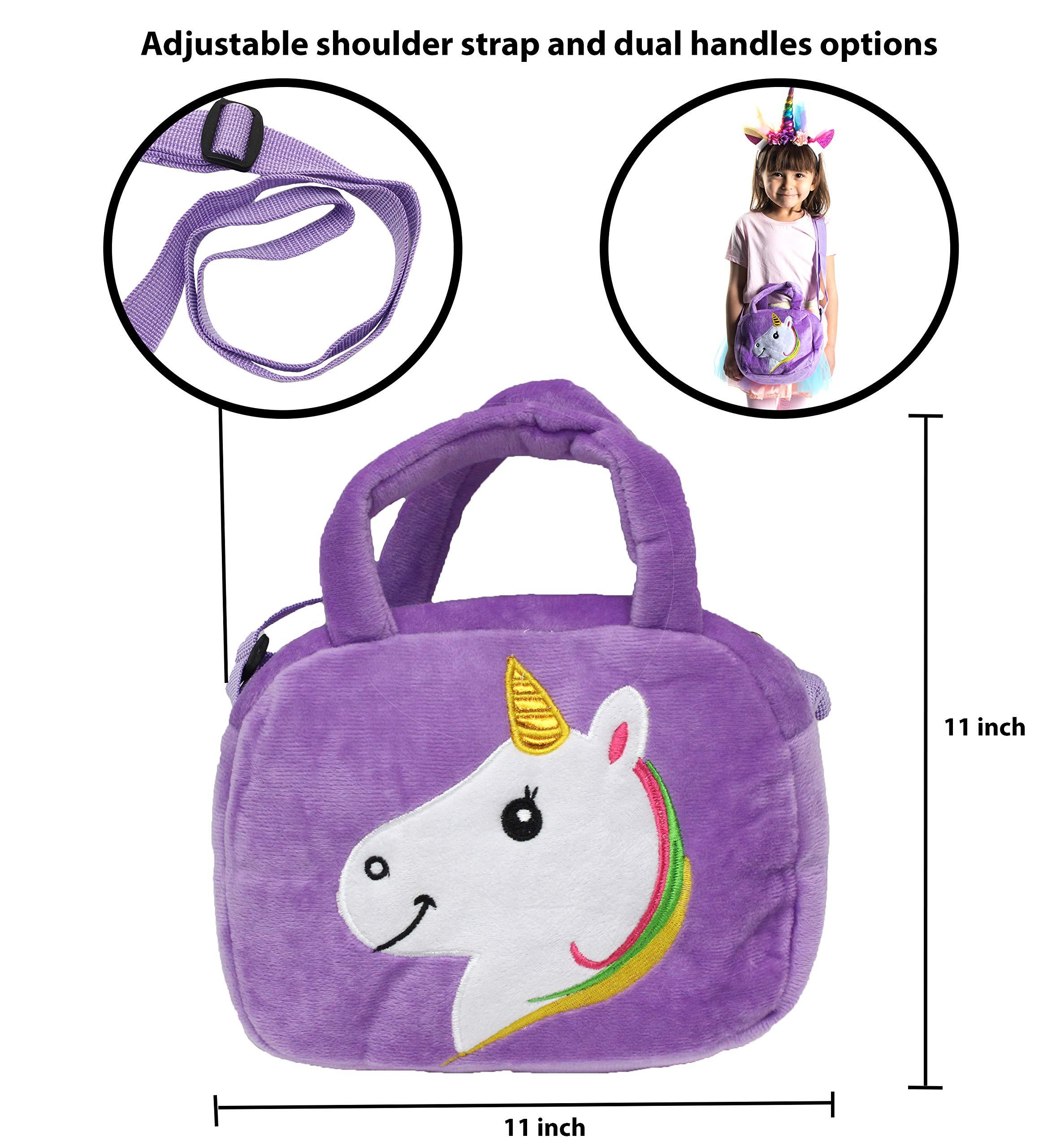 Little Jupiter Premium Girls Rainbow Unicorn Tutu Set 4PC Layered Dress for Age 2-8 Years Costume Unicorn Party 6