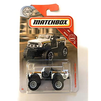 Matchbox 76 International Scout 4x4 White 52/100 MBX Rescue 13/20: Toys & Games