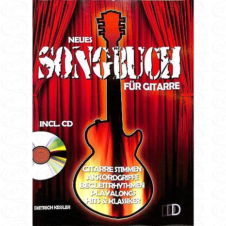 NUEVO Song libro para guitarra – Arreglados para Acordes de guitarra – – con CD [