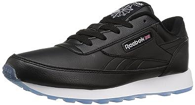 e5243f1baebdb Reebok Women s cl Renaissance ice Fashion Sneaker Black White