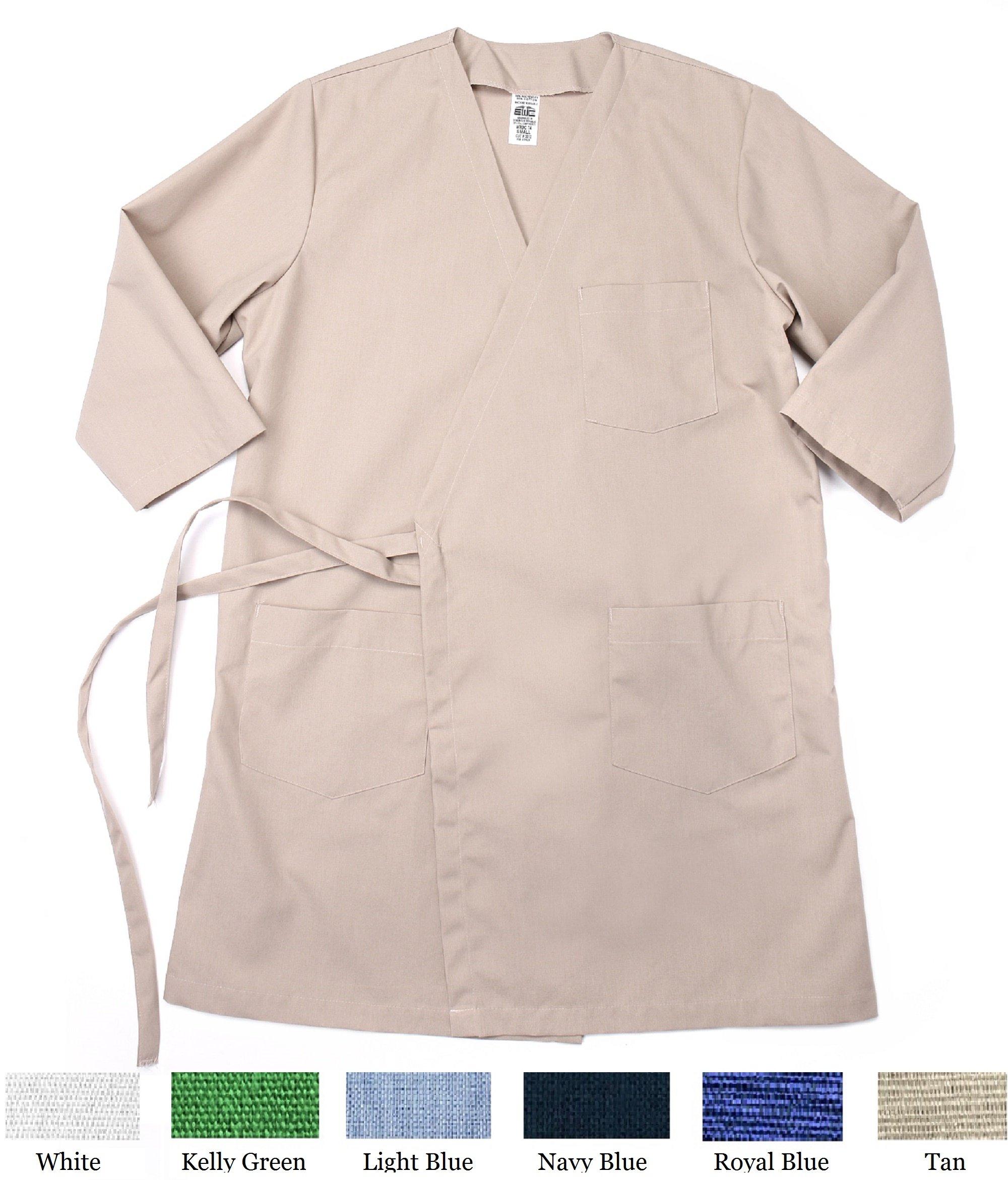 Tan Wraparound Gown 4XL