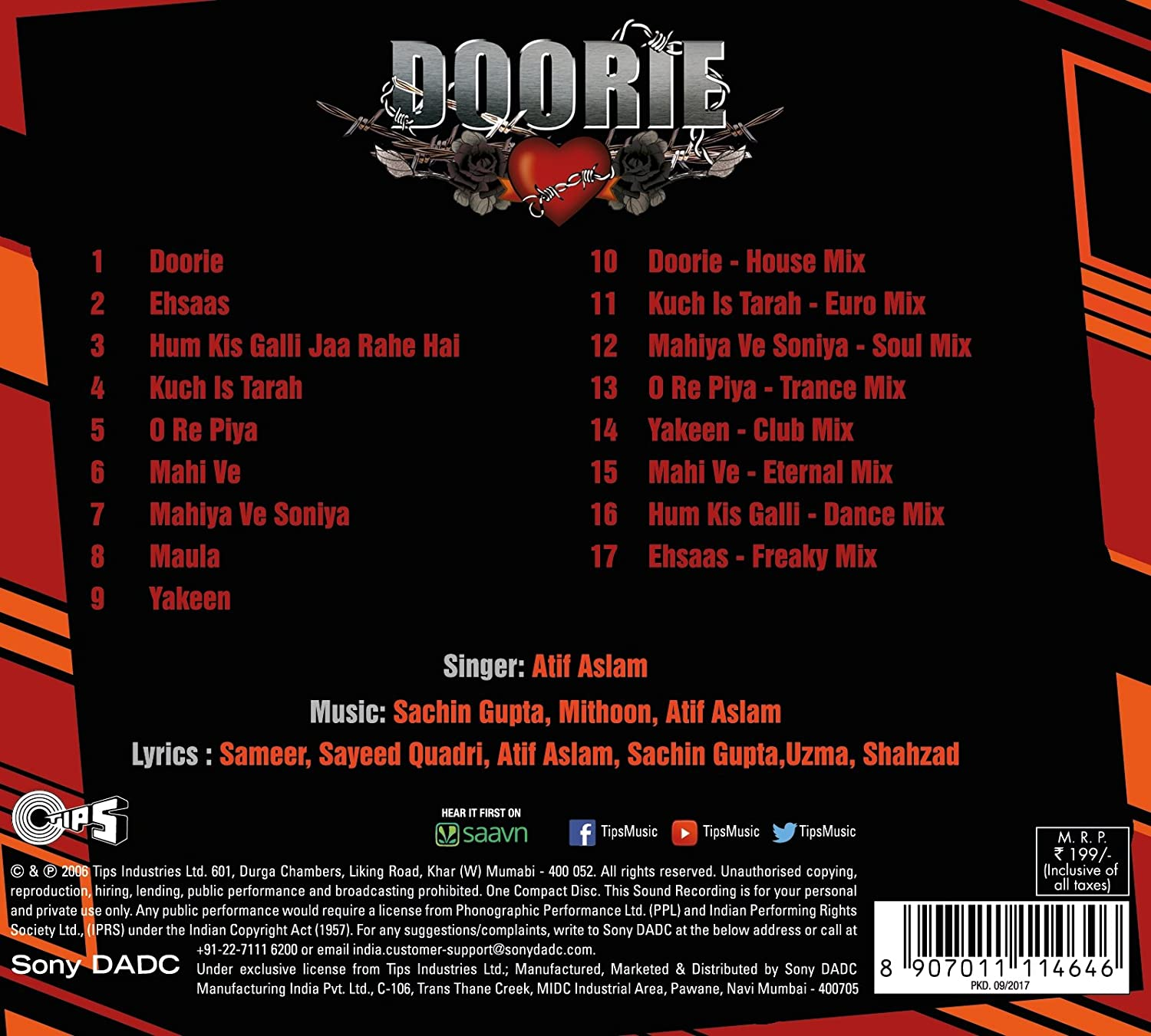 Buy Doorie - CD Online at Low Prices in India | Amazon Music