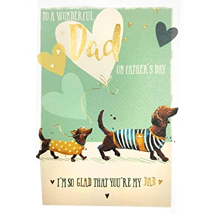 Tarjeta del día del padre - Siguiendo en tus pasos - 6.7 x ...
