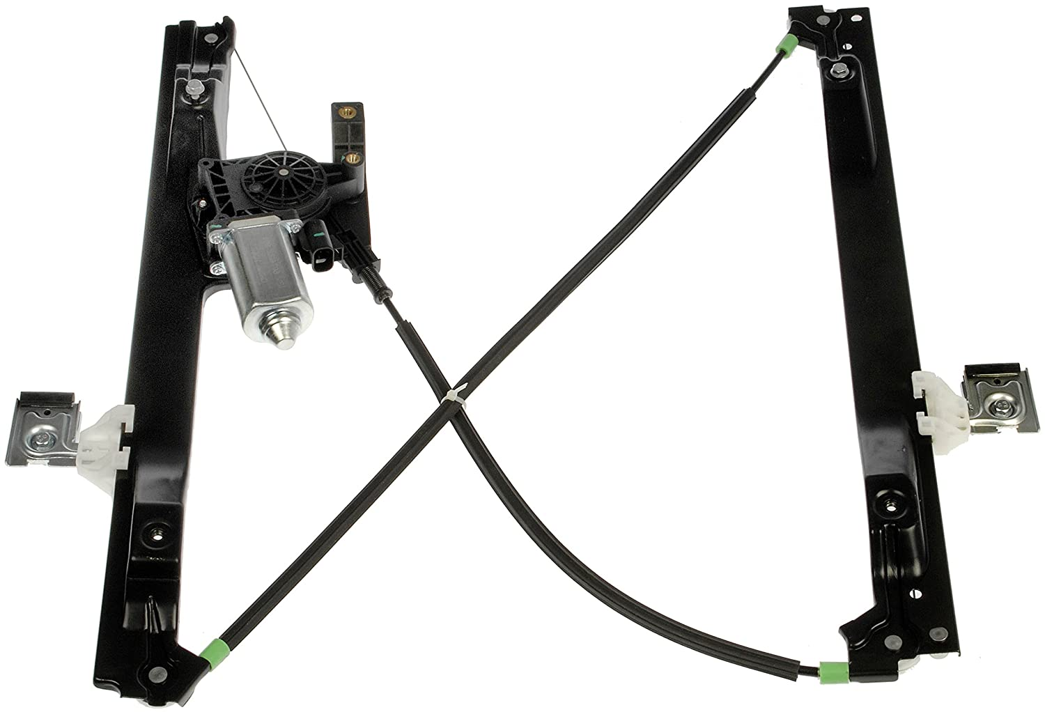 Dorman 741-690 Front Driver Side Replacement Power Window Regulator with Motor for Select GM//Isuzu//Saab Models