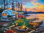 Buffalo Games - Darrell Bush - Camping Reflections - 1000 Piece Jigsaw Puzzle