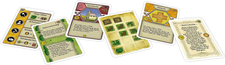 Lookout Games LOG00030 Agricola Moorbauern - Juego de Mesa (ampliación del Juego Agricola, a Partir de 1 año, de 1 a 5 Jugadores): Amazon.es: Juguetes y juegos