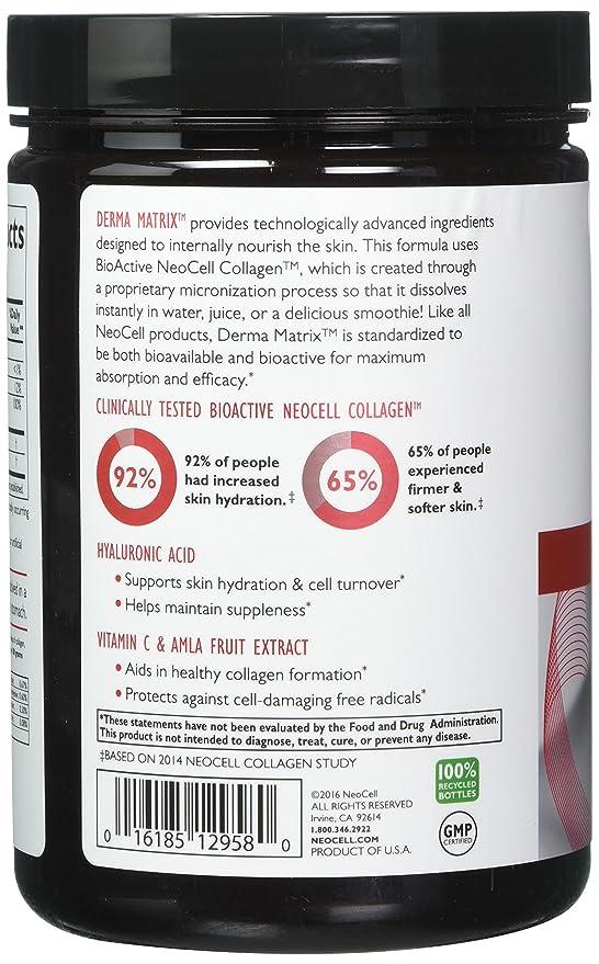 NeoCell - Derma matriz colágeno piel complejo - 6,46 oz: Amazon.es: Salud y cuidado personal