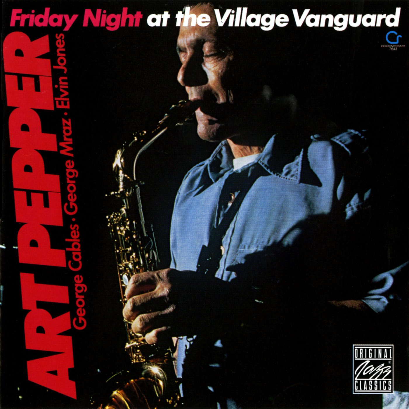 Art Pepper - Friday Night At Village Vanguard - Amazon.com Music