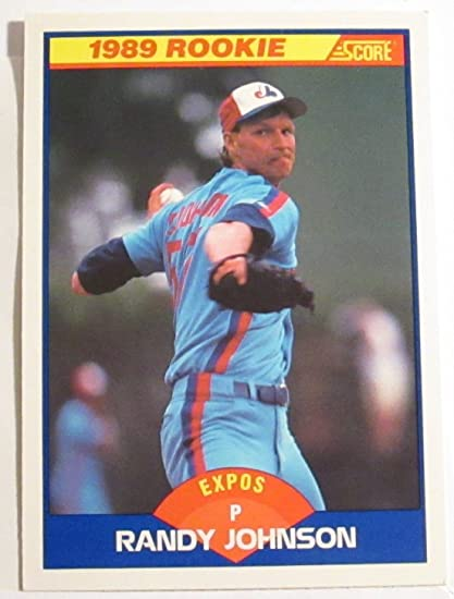 Randy Johnson Rookie Card 1989 Score Baseball Card 645