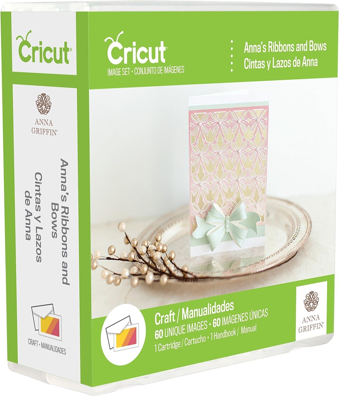 Cricut Anna's Ribbons mart Latest item Bows Cartridge