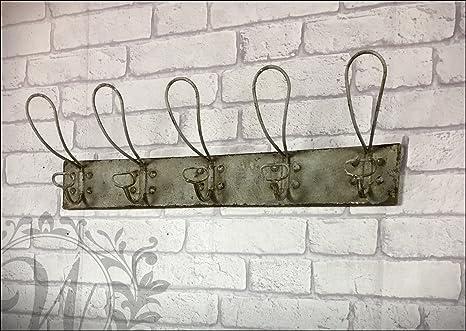 Perchero de pared de ganchos de pared de metal de estilo ...