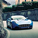 "Dream Luxury Super Cars 2017 Monthly Wall Calendar, 12"" x 12"""