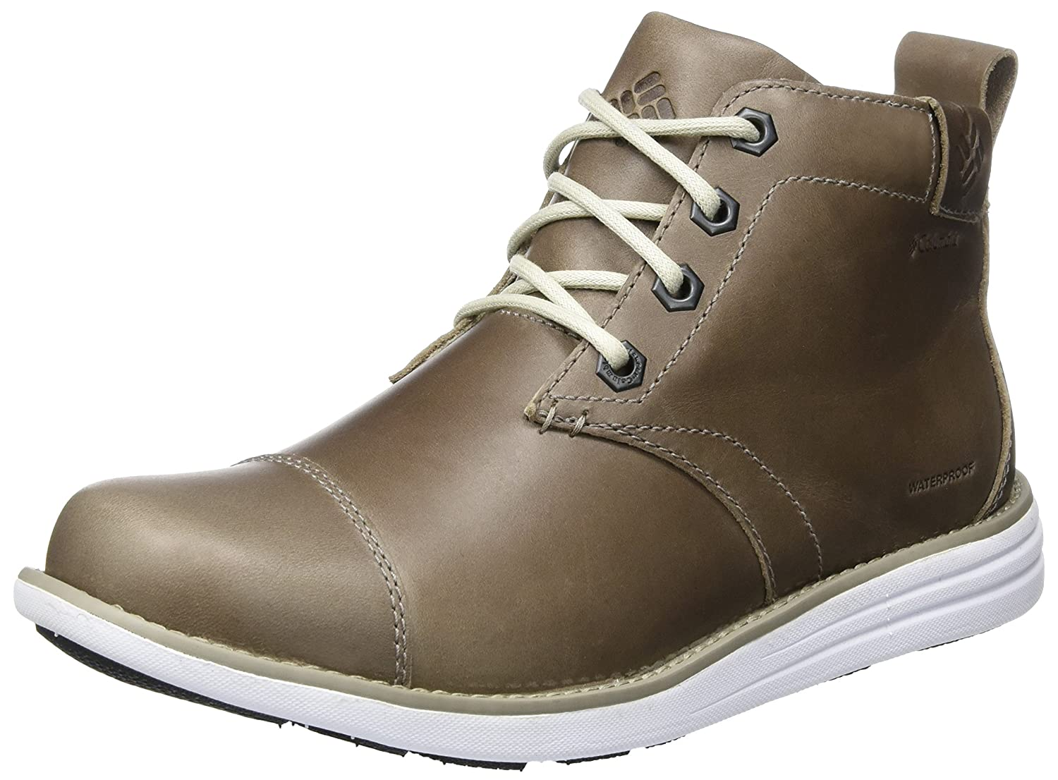 Columbia Herren Irvington Ltr Chukka WP Boots  Cinnamon/Maple Grau (Kettle/ White)
