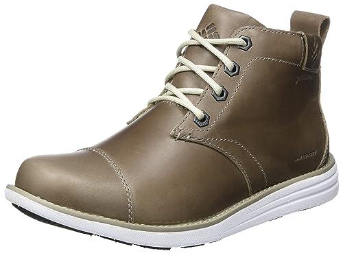 Columbia Men's Irvington LTR Wp Chukka Boots, Grey (Kettle/White), 6