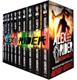 Alex Rider Collection - 10 Books by Walker Books Ltd
