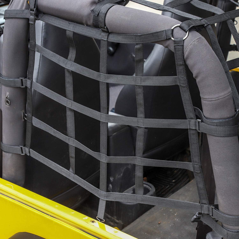 JL Cargo Net 3 Set Cargo Net Cover for 2018-2019 Jeep Wrangler JL JLU 2 Door 4 Door