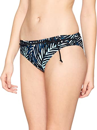 Pour Moi Womens Barracuda Belted Brief Bikini Bottoms