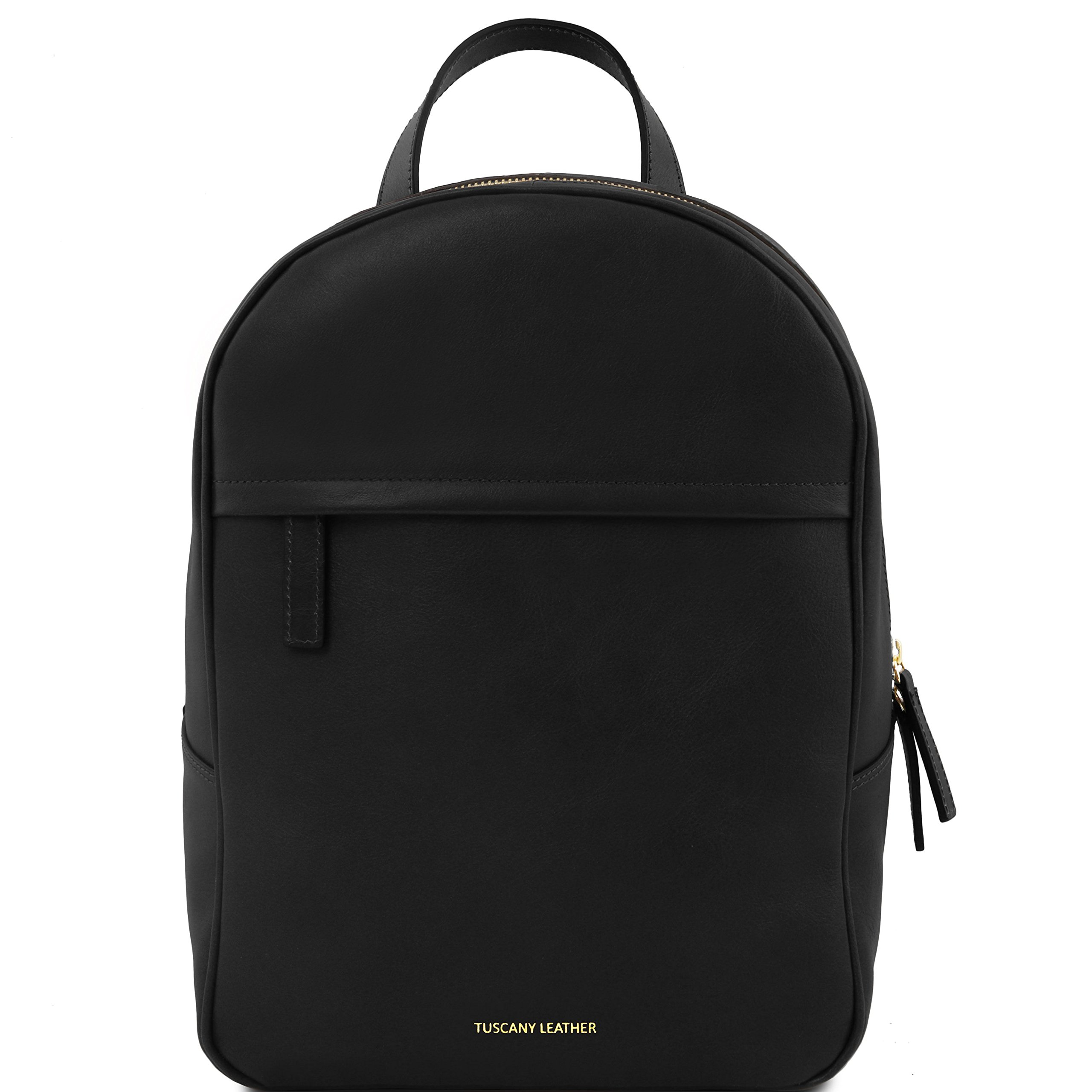 Tuscany Leather TL Bag Leather backpack for women Black