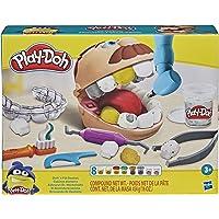 Conjunto Massinha Play-Doh Brincando de Dentista, para crianças a partir dos 3 anos - F1259 - Hasbro