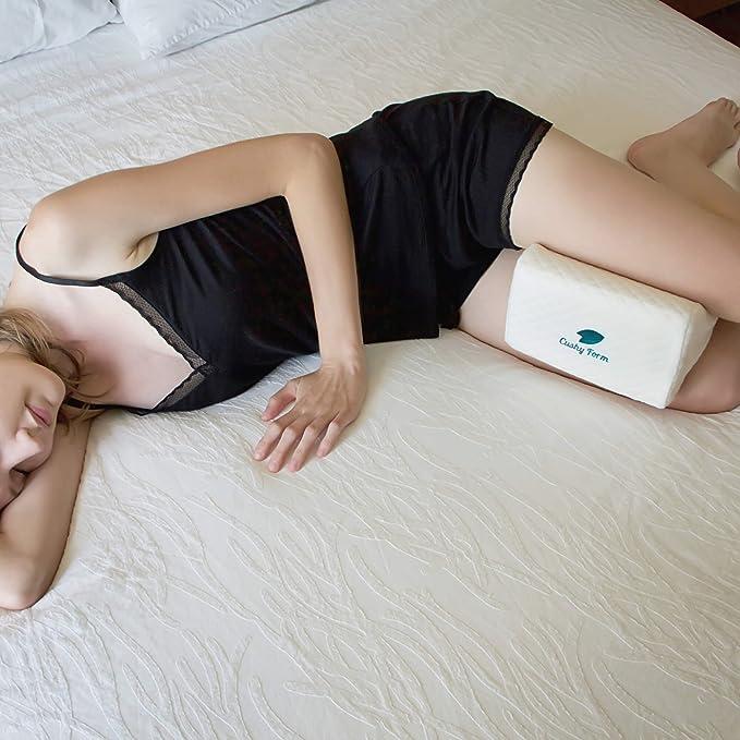 物理治疗师,医生推荐的膝盖枕,缓解背部,腿部,膝盖,踝关节和髋关节疼痛