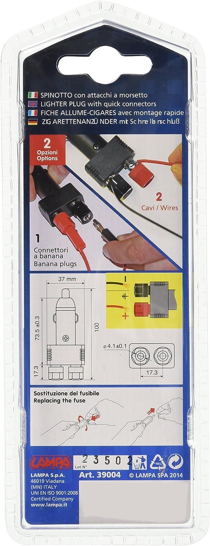 Kabel Draht-Zigarettenanzünder-Stecker 12Volt Netzteil 50cm Heavy Duty