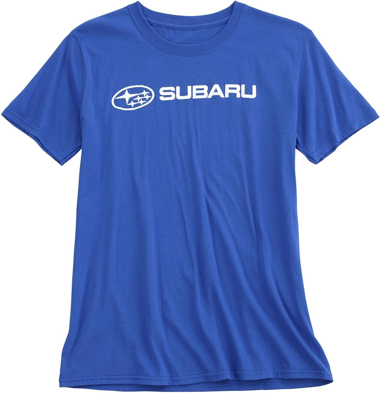 Subaru Basic Tee Shirt Impreza Sti Forester Legacy Outback Ascent Impreza Crosstrek T Shirt Official Genuine WRX New OEM Racing Navy XXL