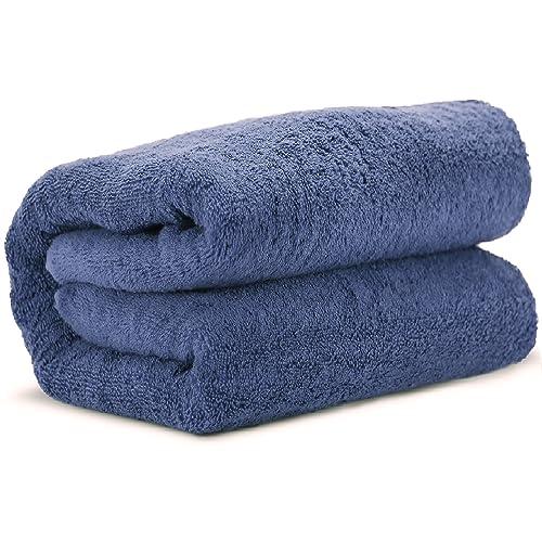 Towel Bazaar 100% Turkish Cotton Multipurpose Towels-Large Bath Sheet/Beach Towel/