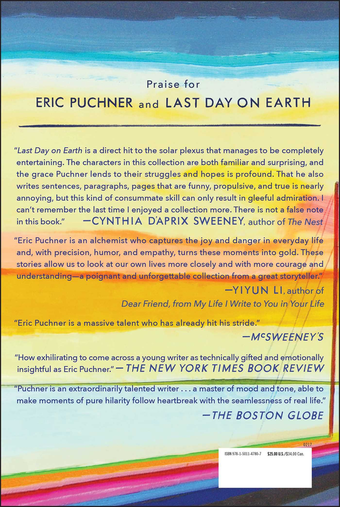 last day on earth stories eric puchner amazon last day on earth stories eric puchner 9781501147807 com books