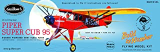product image for Guillow's Piper Super Cub 95 Model Kit, 602