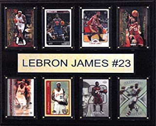 product image for NBA Cleveland Cavaliers Lebron James 8-Card Plaque, 12 x 15-Inch