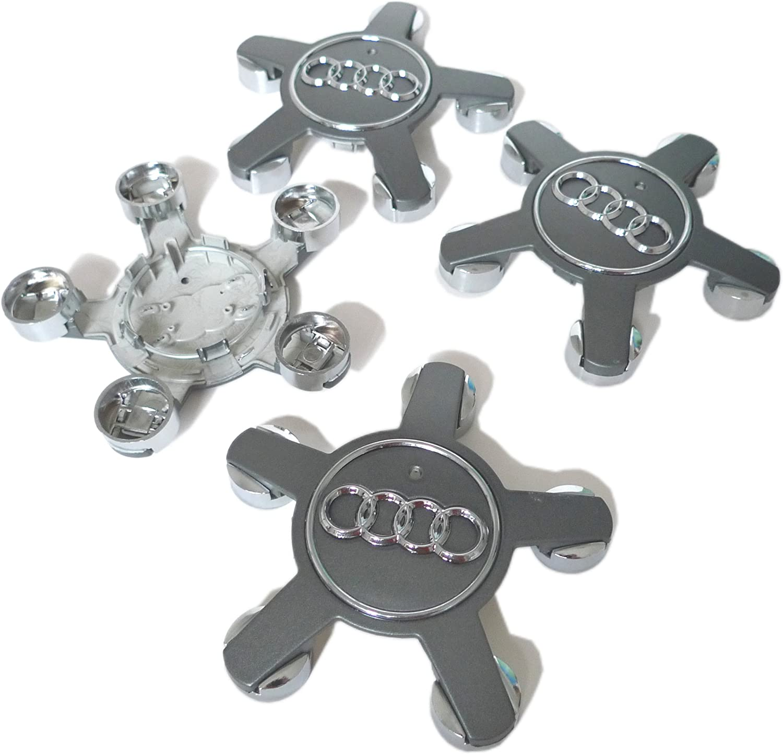 4 Cache Jante moyeux Centre roue Audi A4 A5 A6 A7 A8 S4 S5 S6 8 Q5 TT 4F0601165N