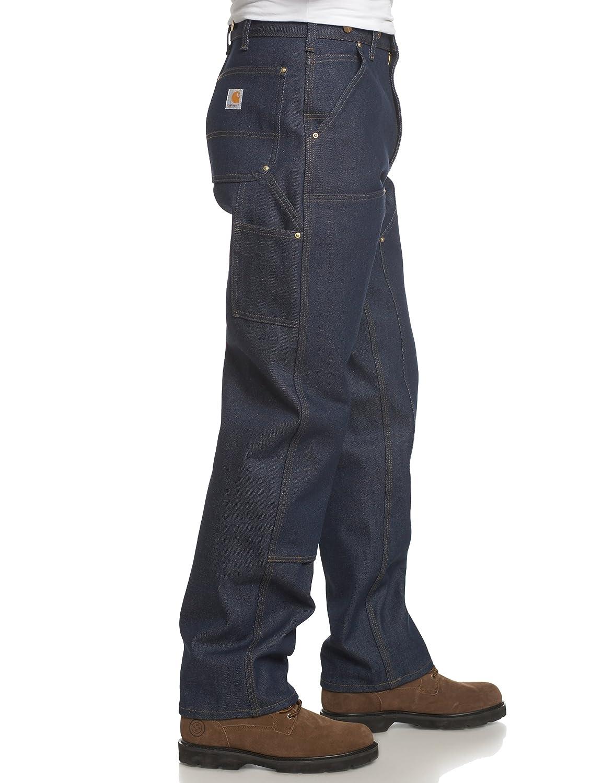 c5118b5152 Amazon.com: Carhartt Men's Double Front Logger Dungaree: Jeans: Clothing