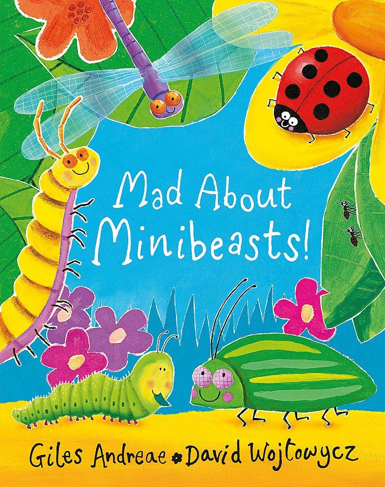 Mad About Minibeasts!: Amazon.co.uk: Andreae, Giles, Wojtowycz ...