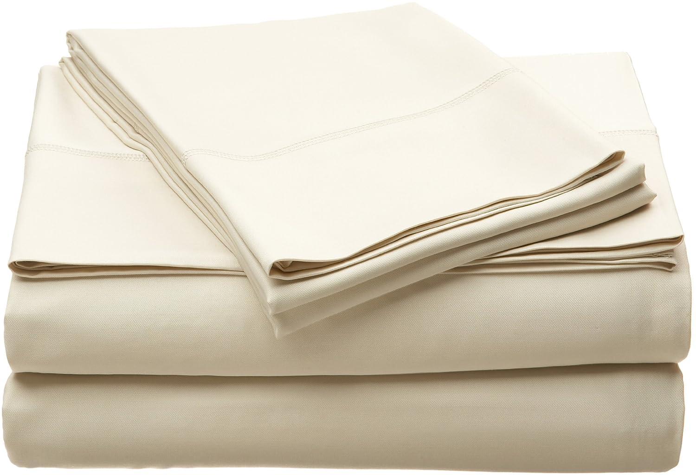 Amazon.com: Home Source 51500QNO05 100 Percent Bamboo Queen Fitted Sheet    Hemp: Home U0026 Kitchen