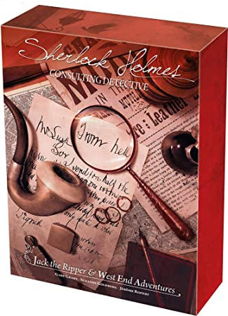 Sherlock Holmes Consulting Detective: Jack The Ripper & West End Adventures: Amazon.es: Juguetes y juegos