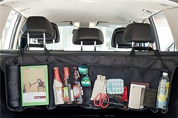 Car Van Boot Multi Mesh Pocket Side Seat Tidy Storage Bag Organiser Pouch Holder