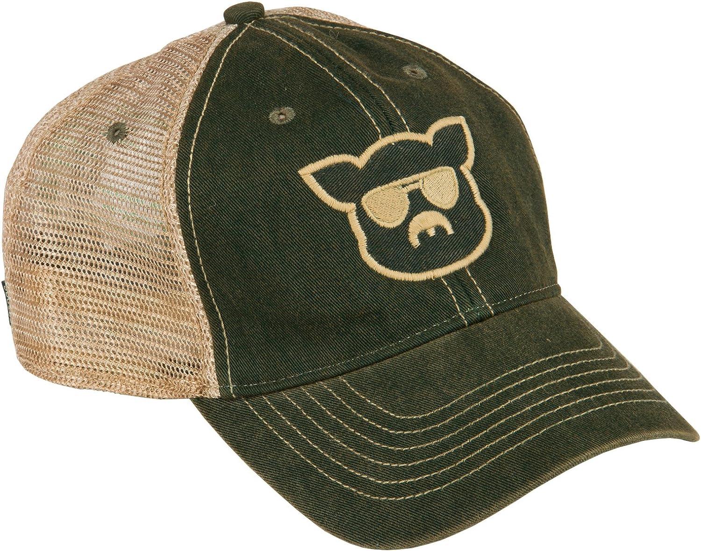 Islanders Pig Face Trucker Hat Mesh Snapback Vintage Feel