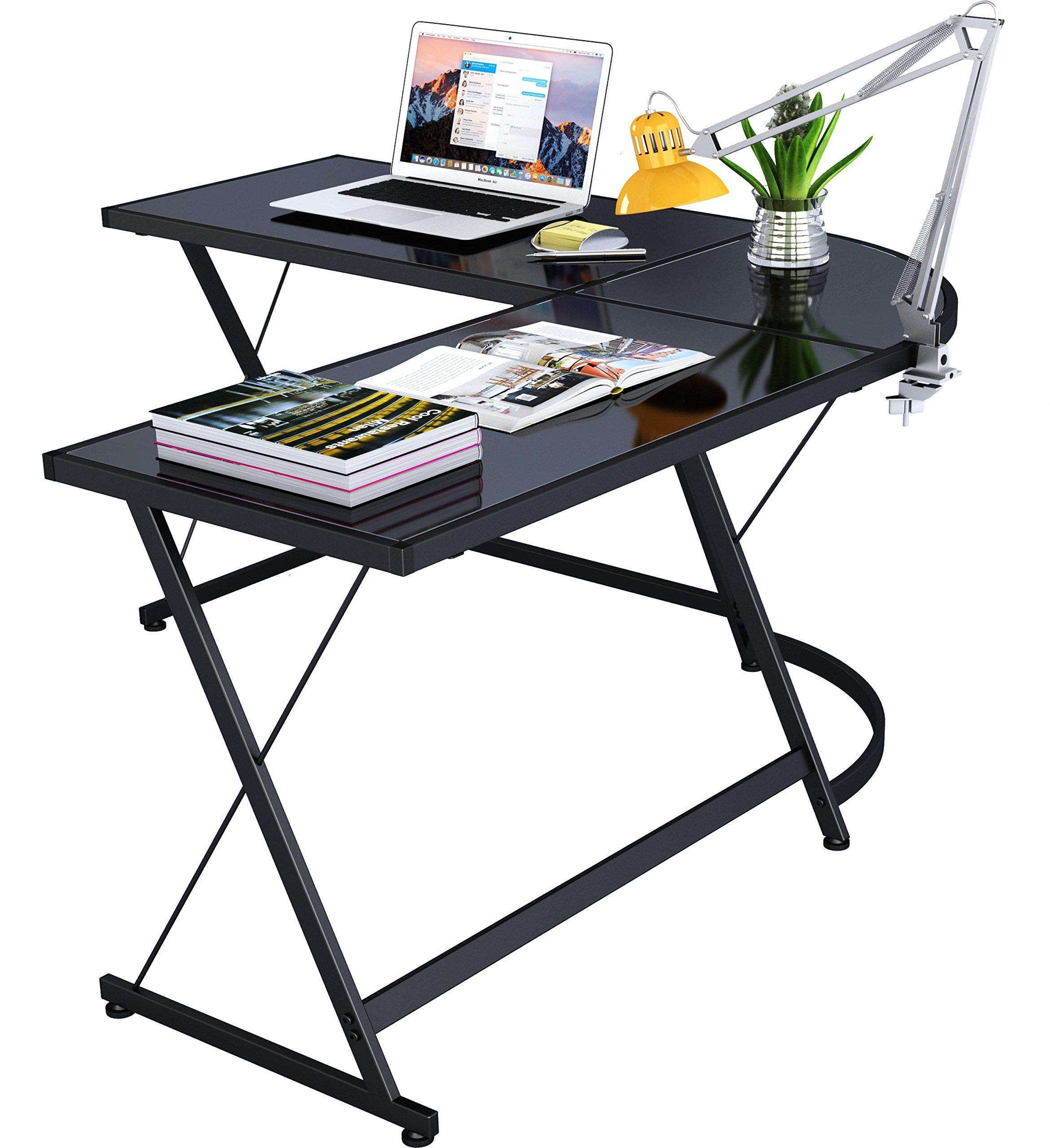 SHW L-Shaped Home Office Corner Desk by SHW (Image #6)