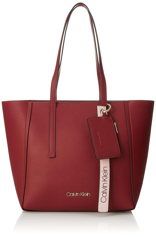 Calvin Klein Jeans - Ck Base Medium Shopper, Shoppers y bolsos de hombro Mujer, Marrón (Tobacco), 16x28x42 cm (B x H T): Amazon.es: Zapatos y complementos