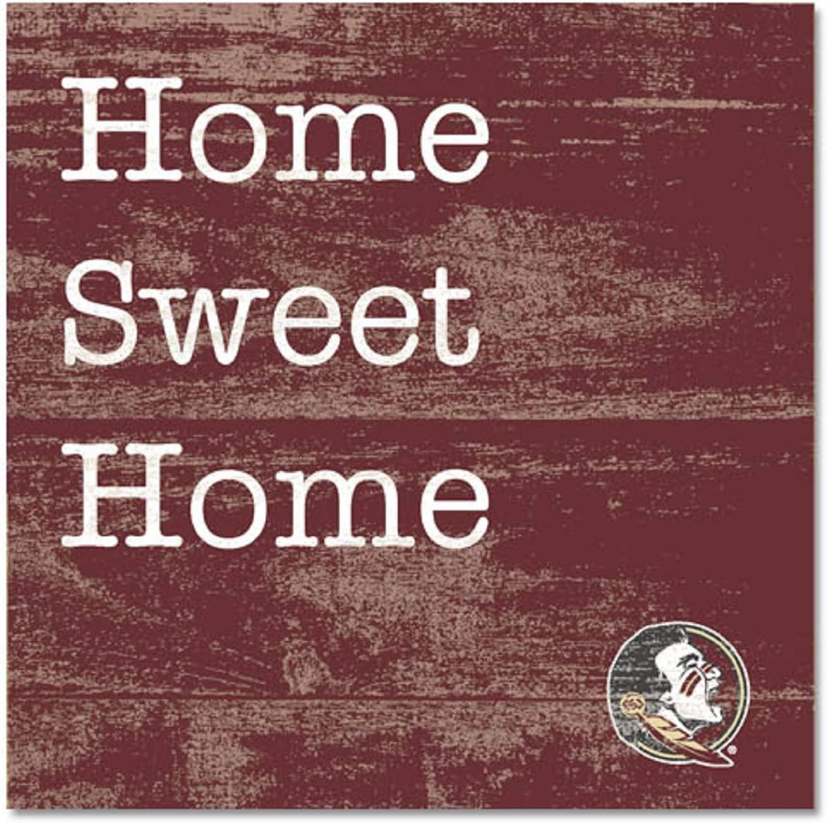 Wood One Size NCAA Legacy Florida State Seminoles Table Top Square