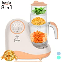 Baby Food Maker Chopper Grinder - Mills and Steamer 8 in 1 Processor for Toddlers...