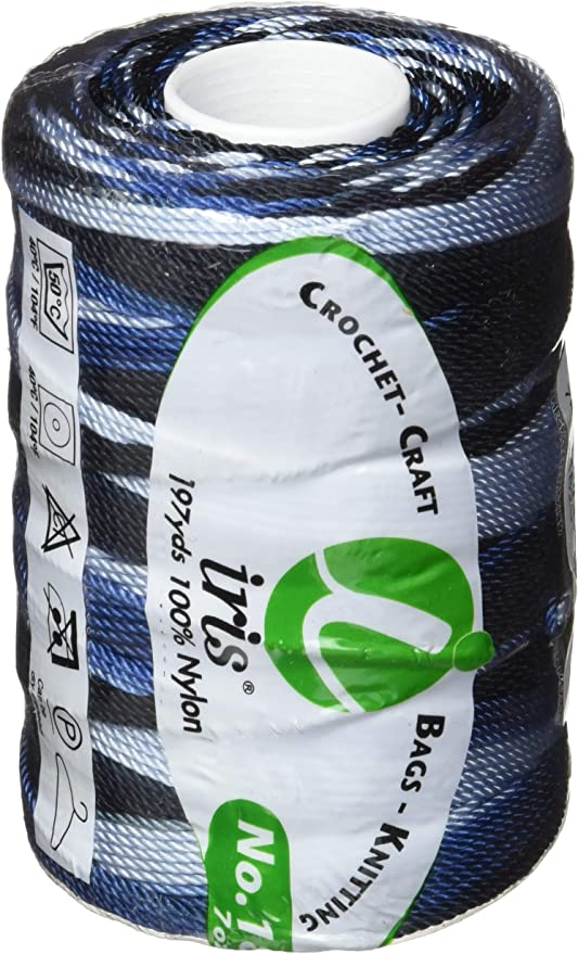 Iris 18-483 Nylon Thread Size 18-Brown Mix