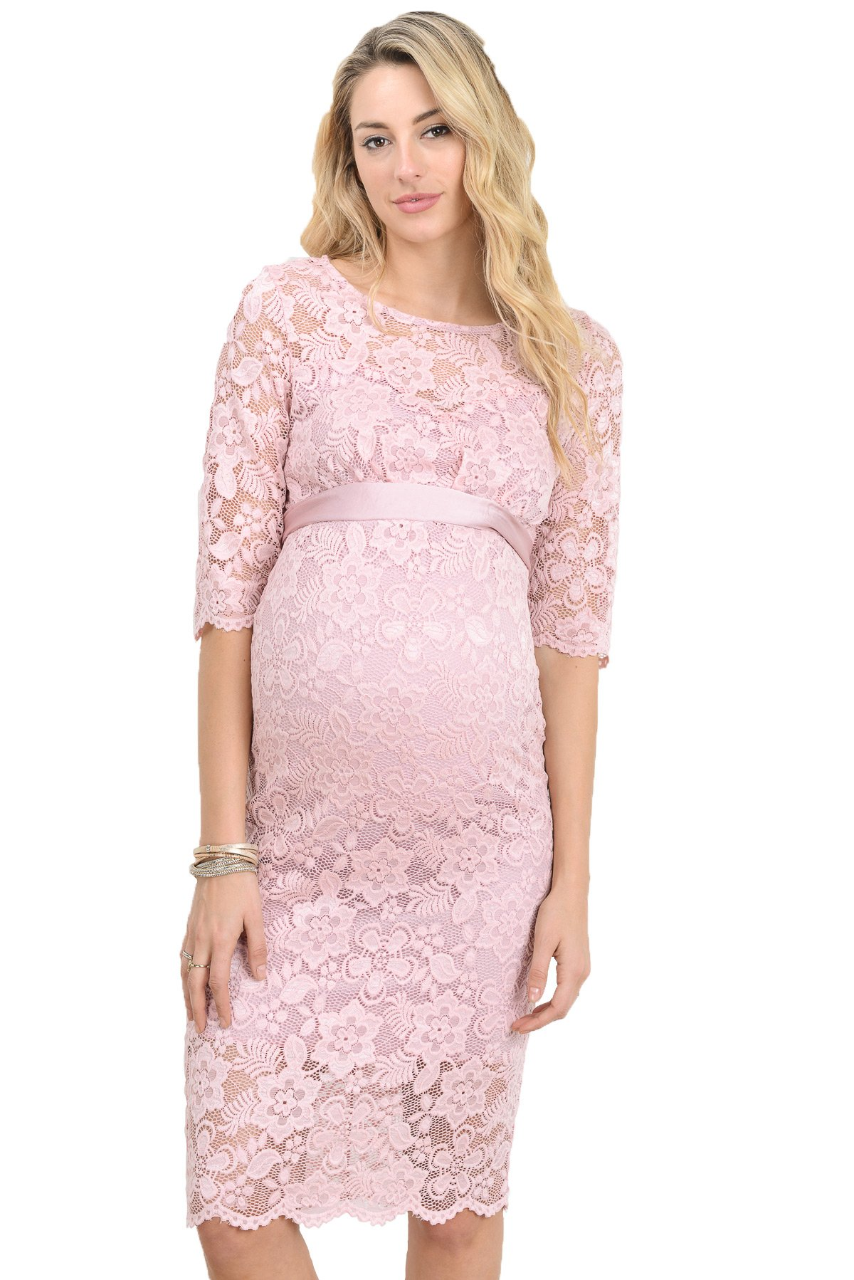 Elegant And Stunning, This Maternity Lace Dress ...