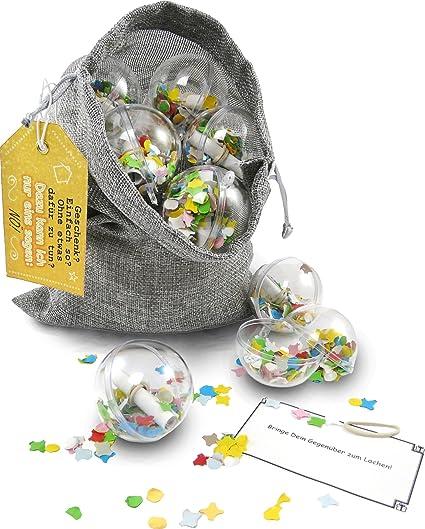 Surprisa Neuheit Originelle Geschenkverpackung Rätselspiel Geschenkidee Ideal Für Gutscheine Und Geldgeschenke Zu Geburtstag Weihnachten