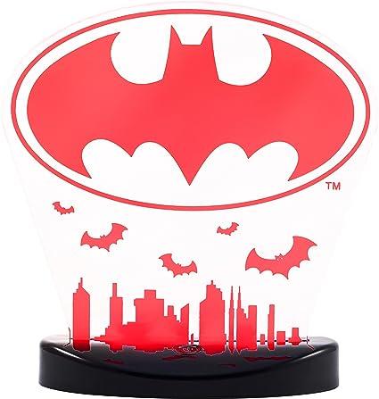 Luz de noche para mesa con cambio de color, Batman: Amazon.com.mx ...